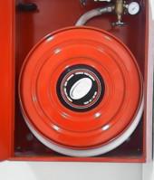 Extintores, bies, hidrantes, depósitos, grupos de presión, rociadores, columna seca.